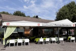 Pizzeria barbablu Istrana entrata locale