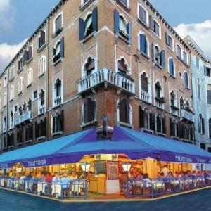 Trattoria da Roberto a Venezia esterno montaggio