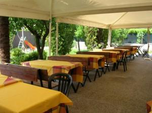 pizzeria spaghetti house santa lucia terrazza tendone